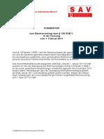 Kommentar Zum Rahmenvertrag 2011