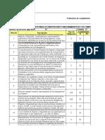 Evaluación Cumplimiento Legal GSYS