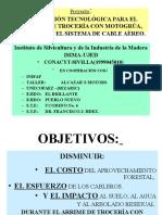 USO Y MANEJO DE CABLES FORESTALES