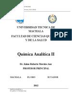 Libro Quimica Analítica II