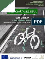Cartel Conferencia Ciencia Callejera