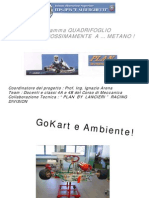 GoKart a Metano
