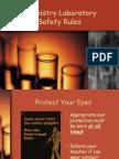 Chemistry Laboratory Safety Rules