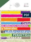 CARTA DE DERECHOS HUMANOS DE ADOLESCENTES EN EDAD ´PERMITIDA DE TRABAJO