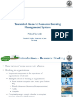 Resource Booking ERP Munich