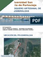 puerto artesanal Esmeraldas ECUADOR