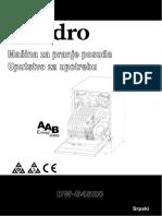 MMaaššiinnaa Zzaa Pprraannjjee Ppoossuuððaa- DW-S4520