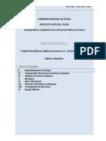 ESPECIFICACIONES TECNICAS CANAL HUACOLLO PET