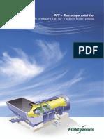 PFT Two Stage Axial Fan - Marketing Brochure 2010 ENG