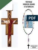 Caratula Cristo s. -Santisimo y Rosario 2016