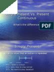 Simple Present vs Present Continuous 1