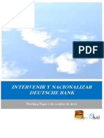 INTERVENIR Y NACIONALIZAR DEUTSCHE BANK