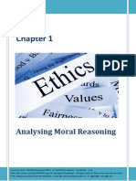 Analysing Moral Reasoning