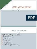5th Meeting Checking Vital Signs
