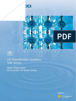 Uv Disinfection Systems Tak Series