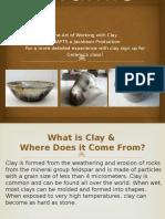 ceramics for crafts class