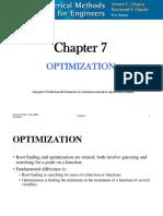 CHE 555 7 Optimization