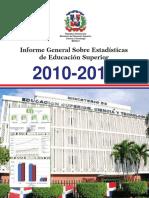Informe General Sobre Estadísticas de Educación Superior 2010-2011.pdf