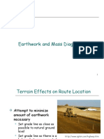 Earthwork and Mass Diagram 1