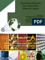 Klasifikasi Material Dan Kebutuhan Material Logam New