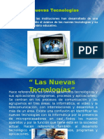 Las Nuevas Tecnologías-phpapp02.ppt