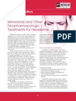 Behavioral and Other Nonpharmacologic