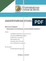 Informe Efectos de Salitre y Su Influencia - Copia