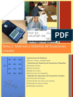 04 Tema 2 Matrices y Sistemas Lineales