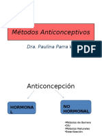 Clase 25 - Anticoncepción