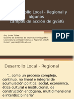 3asJ Argentina-Desarrollo Local y GvSIG