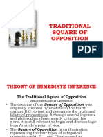 Traditional Square of Opposition Lecture