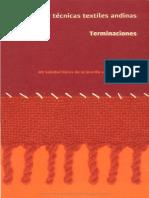 Manual de Técnicas Textiles Andinas Terminaciones