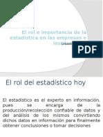 importanciadelaestadsticaenempresaseinstituciones-131219234519-phpapp01