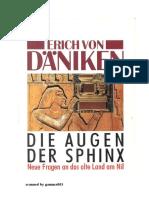 Erich Von Däniken - Die Augen Der Sphinx - Neue Fragen an Das Land Am Nil