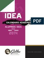 Calendario Académico Alumnos ABR JUN 2014