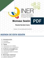 biomasa sesion