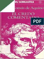 Tomás de Aquino - Credo Comentado