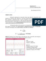 The Passive Band-Pass Filter