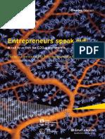 Entrepreneurs Speak Out_2012