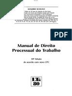 Manual de Direito Processual do Trabalho 2016   Mauro Schiavi.pdf