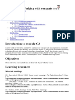 Module C3 - Working With Concepts
