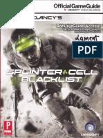 Tom Clancy's Splinter Cell Blacklist (Official Prima Guide)