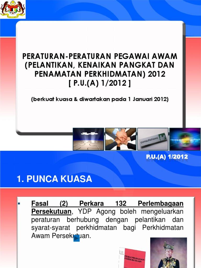 P U A 1 2012 Terkini