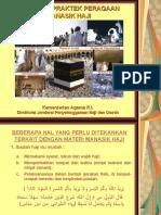 Teori Dan Praktek Peragaan Manasik Haji