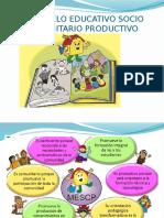 El Modelo Educativo Socio Comunitario Productivo