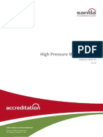 High Pressure Water Jetting Guidance Note SA GN 36 (V1) Jan 2014