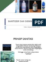 Sanitizer Dan Desinfektan