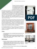 Balanza Analítica - Wikipedia, La Enciclopedia Libre
