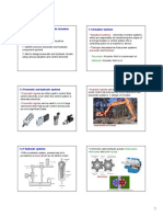 EMC311 Slides Topic 7 Pneumatic and Hydraulic Actuation Systems Handouts 6 Pages Per Slide