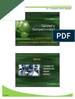 Tema 1 - La Competitividad en El Entorno Global